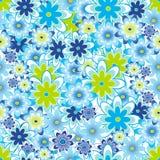 seamless tegelplatta för blomma royaltyfri illustrationer