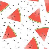 seamless tegelplatta för melon stock illustrationer