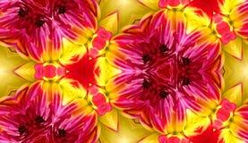 Seamless tegelplattabakgrund 4 för Dahlia Arkivfoton