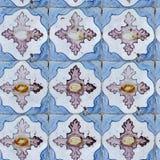seamless tegelplattategelplattor för forntida keramisk modell Royaltyfria Bilder