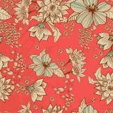 Seamless tender floral background. For design Stock Image