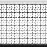 Seamless tennis net Stock Photography