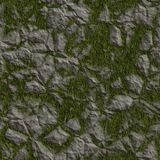 Seamless Terrain Texture Map. It can be used as background Stock Photos