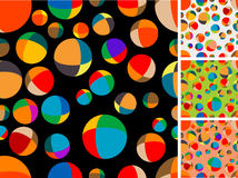 Seamless textil. Seamless vector- Four color solutions Stock Images