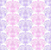 Seamless textilbakgrund Arkivfoto