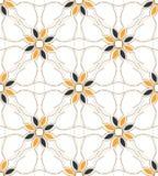 Seamless textildesign Royaltyfria Bilder