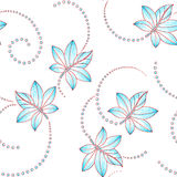 Seamless textile background Stock Images