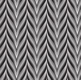 Seamless textile fibre weave graphic pattern Stock Photo