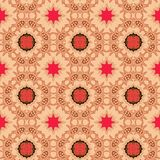 Seamless Textile Pattern. A completely seamless abstract tile able paper pattern stock photos