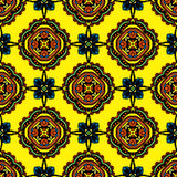 Seamless textile pattern  design Royalty Free Stock Photos