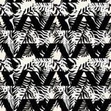 Seamless textile  pattern print .Fashion trendy expressive   Royalty Free Stock Photography