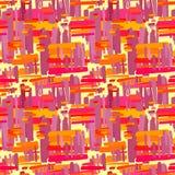 Seamless textile  pattern print .Fashion trendy expressive   Royalty Free Stock Photos