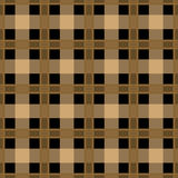 Seamless textile tartan brown checkered texture plaid pattern ba Stock Image