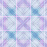 Seamless textile tartan checkered texture plaid pattern backgrou Stock Photography