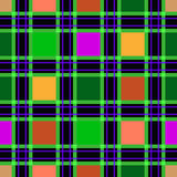 Seamless textile tartan checkered texture plaid pattern  Stock Photography