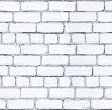 seamless textur Den gamla väggen göras av vita tegelstenar Inaccura Royaltyfria Bilder