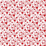 seamless textur för hjärta Royaltyfri Fotografi