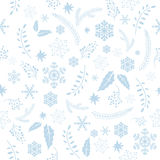 seamless textur för jul stock illustrationer