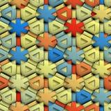 seamless textur för paper band Royaltyfri Foto