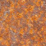 seamless textur för korrosionsmetall Royaltyfri Fotografi