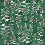 Seamless textur med blom- motiv Royaltyfria Foton
