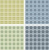 Seamless texture. Set of color backgrounds for designe royalty free illustration