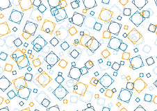 Seamless texture. Color figures. Vector illustration Stock Photos
