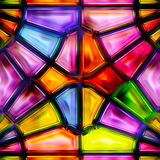 Seamless texture of abstract bright shiny colorful. Geometric shapes Stock Photo