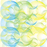 Seamless texture with abstract colorful balls Stock Photo