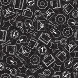 Seamless texture with abstract pattern on business. Stock Image