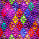 Seamless texture abstract shiny colorful background 3D illustration Stock Images