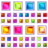 Seamless texture of abstract shiny colorful 3D illustration. Seamless texture of abstract shiny colorful pattern 3D illustration Stock Photo