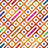 Seamless texture of abstract shiny colorful 3D illustration. Seamless texture of abstract shiny colorful pattern 3D illustration Royalty Free Stock Images