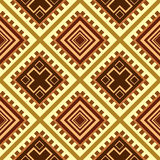 Seamless texture Africa. Vector illustration Stock Photography