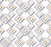 Seamless  texture from architectural motif Royalty Free Stock Photos