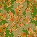 Seamless Texture Autumn Royalty Free Stock Image