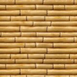 SEAMLESS TEXTURE OF BAMBOO, BEIGE BACKGROUND Stock Photography