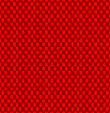 Seamless guipure texture. Black guipure on a red background. Seamless texture: black guipure on a red background Stock Photography