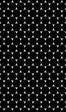 Seamless texture with black and white pattern of circles Stock Images