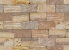 Seamless texture of block laying wall royalty free stock photo