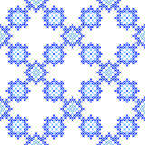 Seamless texture with blue abstract patterns Royalty Free Stock Images