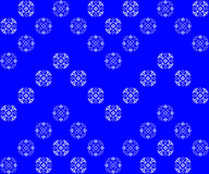 Seamless texture with blue ornaments Royalty Free Stock Photo