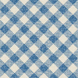 Seamless texture of blue plaid. Vector illustration stock illustration