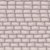 Seamless texture brick stonewall. Vector illustration. Architecture pattern Royalty Free Stock Images