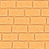 Seamless texture brick stonewall. Vector illustration. Architecture pattern. Seamless texture yellow brick stonewall. Vector illustration. Architecture pattern Royalty Free Stock Image