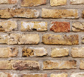 Seamless texture of brick wall. Seamless texture of old brick wall (tiling). Endless texture can be used for wallpaper, web page background, surface textures Royalty Free Stock Photos