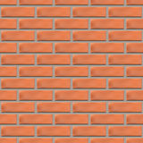 Seamless texture of a brick wall, vector illustration. Royalty Free Stock Images