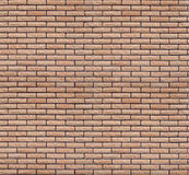 Seamless texture of a brick wall. Seamless texture of weathered wall finish beige decorative brick Royalty Free Stock Photos