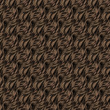 Seamless texture of brown fur with highlights Stock Photo