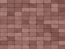 Seamless texture of brown tiles Stock Photo